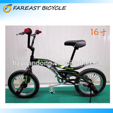 16 Boy's Freestyle Bike/ 16 Inch Wheel BMX Bicycle Customized Bicycles Black