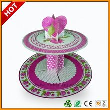 Leader Display paper stands john lewis reversible cake stand 2 tier elegant two tier round cupcake stand