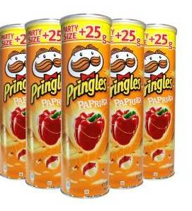 Quality Pringles potato chip 165g, 40g with all flavors Low Price