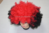 DiXuan Popular High Quality Colorful Fans Wigs crazy color wigs