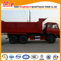 Dongfeng dump truck bucket 6X4 240hp sand tipper 10 wheels for sale