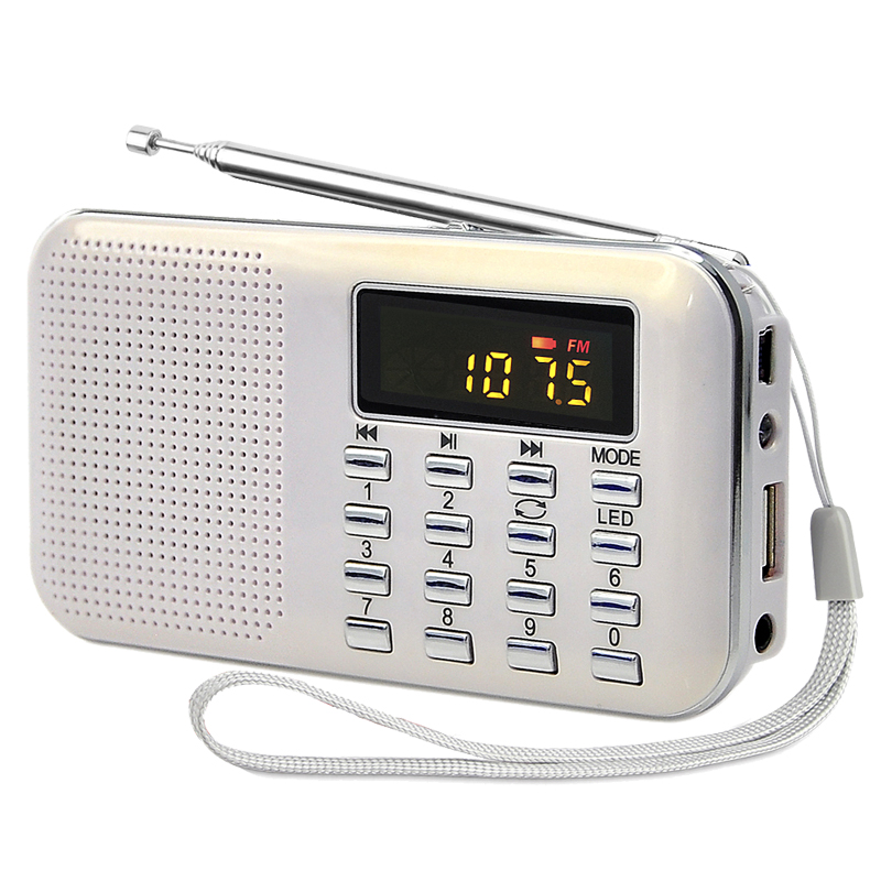 factory best hot sale pocket recharge mini Small card speaker fm radio mp3 player with usb