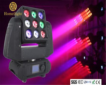 LED Moving Head Beam 9Pcs 10W RGBW Zoom LED Pro LED Light