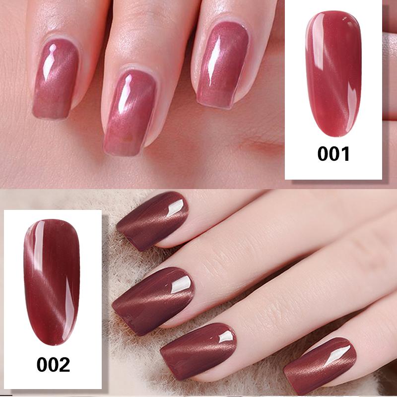 Luxury Finger 1pcs Sweet Bean Cat Eye Effect Lak Gelpolish UV Gel ...