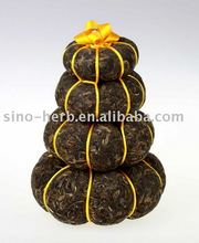 Free Sample Yunnan Old Handmade Bolay Tea Green Pu'er Bagged Tea