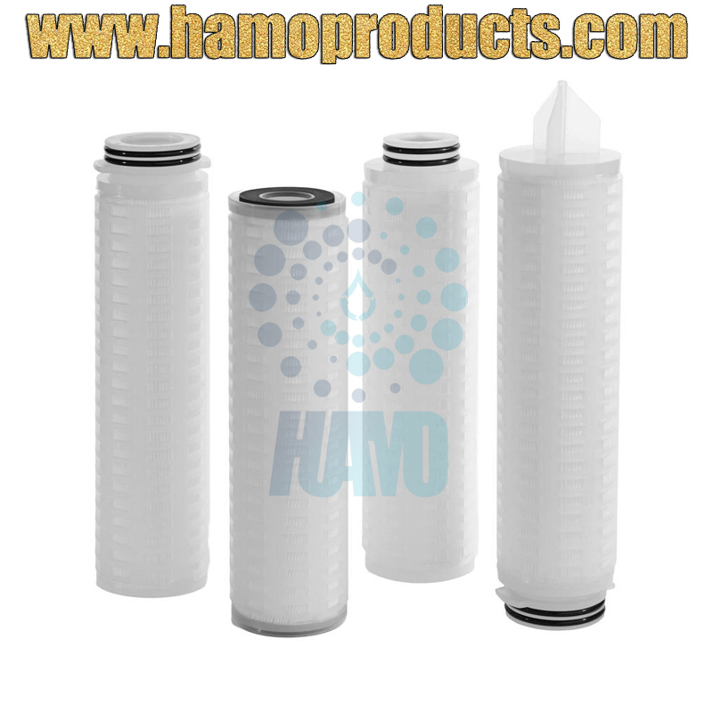 Hydrophobic PTFE Pleated Filter Cartridge/Pleated Membrane Filter Cartridge