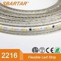 new design 2216 led light strip 120 led/meter smallest size 220V 50m/roll