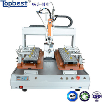 High Efficiency auto feeding screwdriver robot with 1 Screwdriver and 2 Working Station