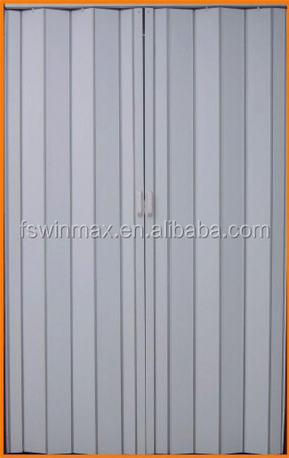 F001 The Cheapest PVC Folding Door Plastic Folding Shower Door