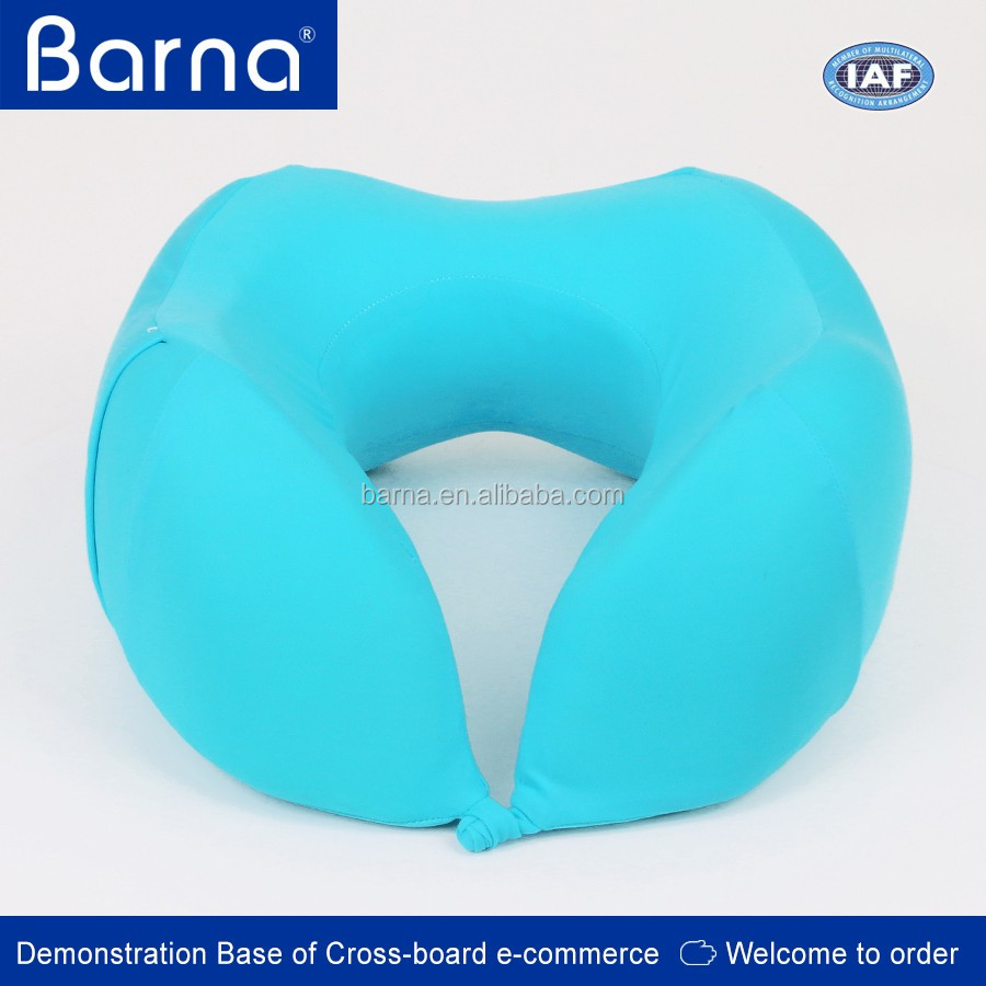 neck support High Density Contour U-Shape Memory Foam Neck pillow