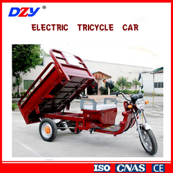 Cheapest adults electric tricycle car three wheel cargo for sale