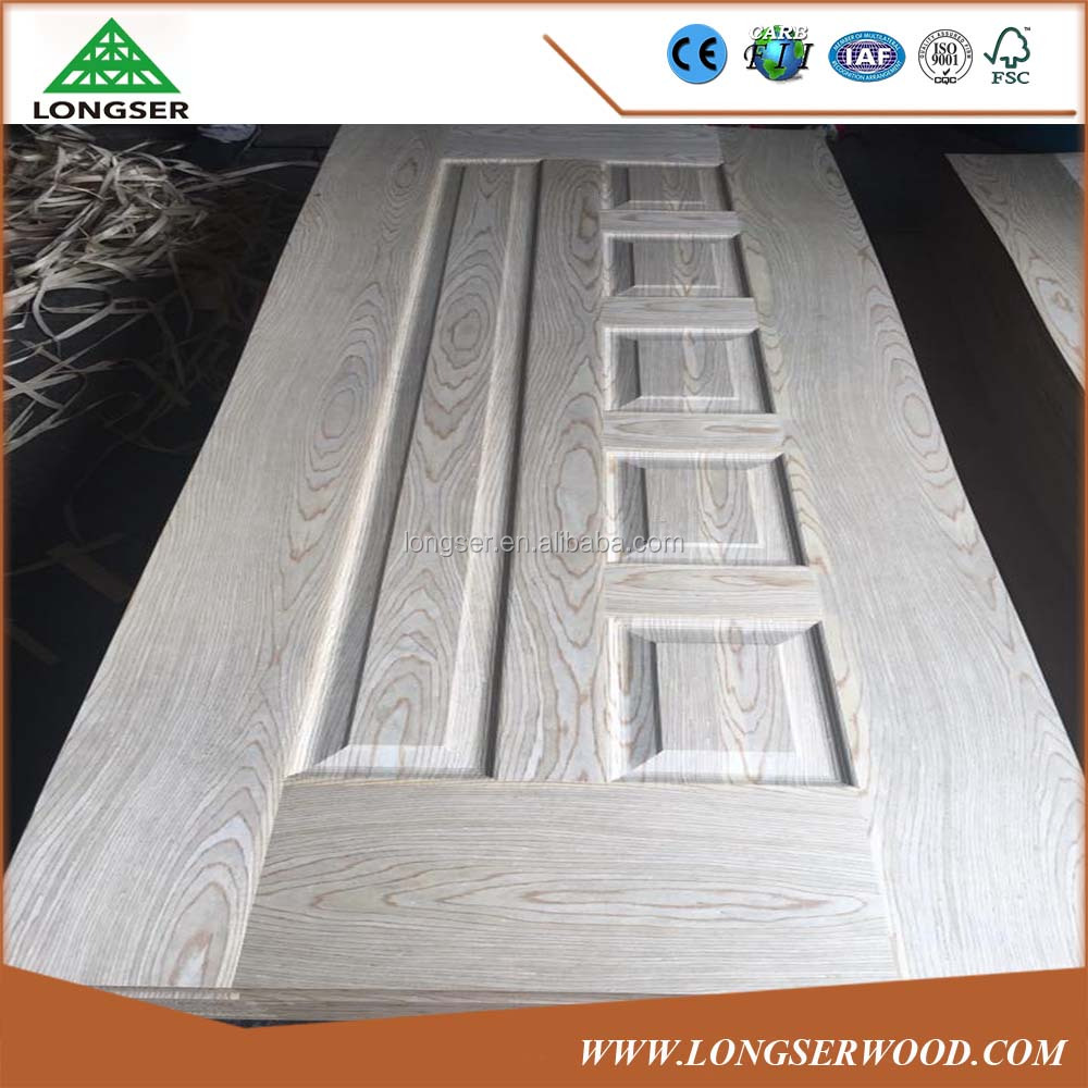 HDF Molded Veneer Laminated Wood Door