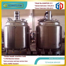 Stainless steel,titanium alloy,nickel alloy made reaction kettle