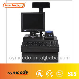 Supported Multiple System Used POS Touch Screen Monitor