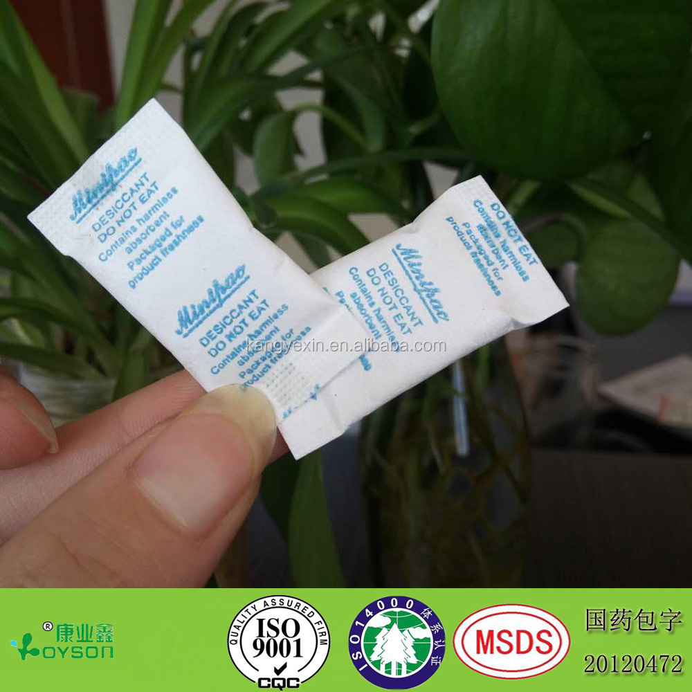0.5g TYVEK high quality factory price medical grade silica gel desiccant keep protein powders dietary supplement from moisture