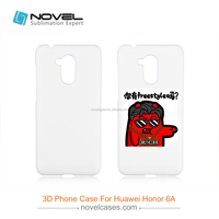 Diy Sublimation 3D Blank Plastic Mobile Phone Case For Honor 6A