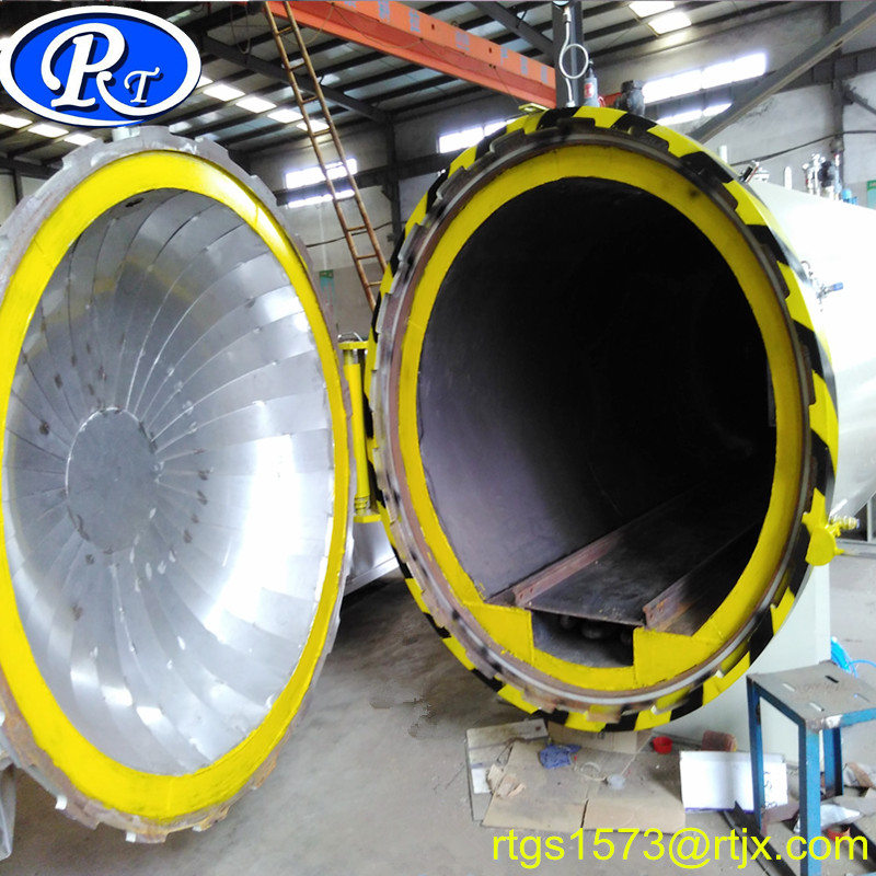 Horizontal Industrial Steam Autoclave for Rubber Vulcanization