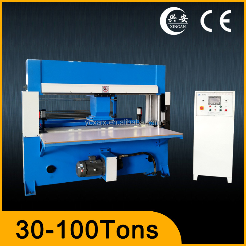 automatic travelling head sponge paper die cutting machine