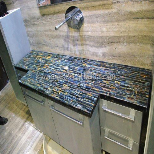 New project of wet bar granite countertopps