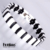Removable Link Strap Ceramic Bracelet With Hematite For Buckle Clasp Jewelry
