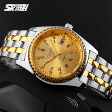 Japan mov't men fashion hand watch luxury water resistant 3 ATM quartz stainless steel back watch