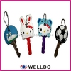 Guangzhou fashion custom rubber key covers plastic key covers