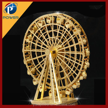 Ferris Wheel diy building 3d metal puzzle
