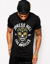 T-Shirt With Cypress Hill Print/printed custom designs tshirt/high fashion men clothing/model-cp391