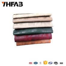 China Supplier 100% polyester faux suede fabric for sofa and curtain