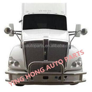 304 stainless steel Deer Guard For KENWORTH T680 Truck Bullbars For KENWORTH T700 Truck FRONT BUMPER