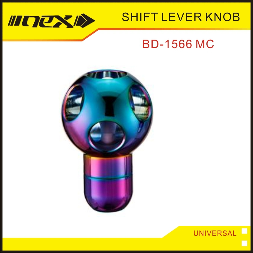 Auto Accessories Universal Gear Shift Rainbow Shift Knob