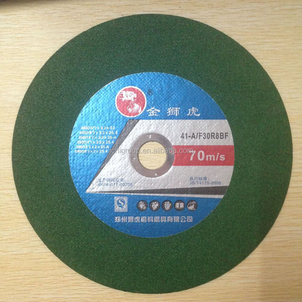 150x2.5x22mm High quality disco de corte Inox cutting wheel at factory price