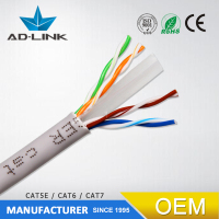 Network Cable Telecommunications Cat5e Cat6 Factory