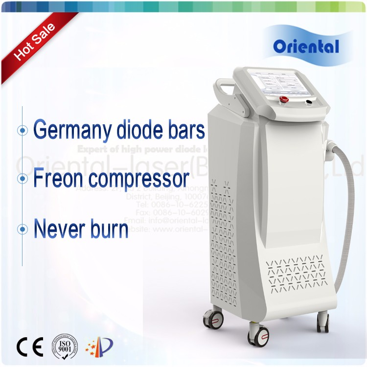 2016 hot sale 808nm facial skin rejuvenation diode laser hair removal device