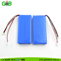 GEB8043125 7.4V 6000mAh Rechargeable lithium battery