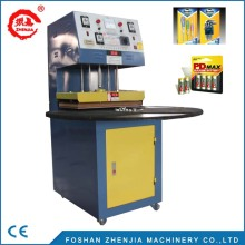blister packing small PVC blister packaging machine in Zhenjia factory