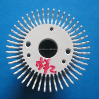 Radial extrusion air cooling cpu fan and heat sink cooling