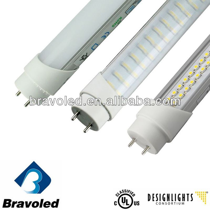 CE/UL/DLC listed, 5 years warranty, 100lm/w, good price, 288smd 18w led reb tube