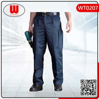 Mens poly cotton knee pad work pants/trousers