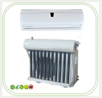 Wall mounted energy saving hybrid solar air conditioning units
