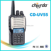dual band handheld dual band one way radio receiver with fcc (CD-UV55)