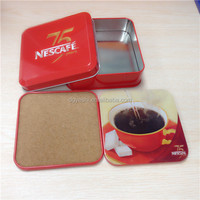 2016 Promotional tin coaster set