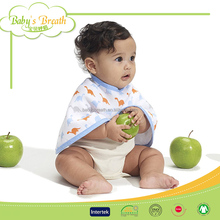 BBC13 Wholesale Easy Wash Soft Stain Resistant 100% Cotton Muslin Cloth Baby Bib Burp Cloths