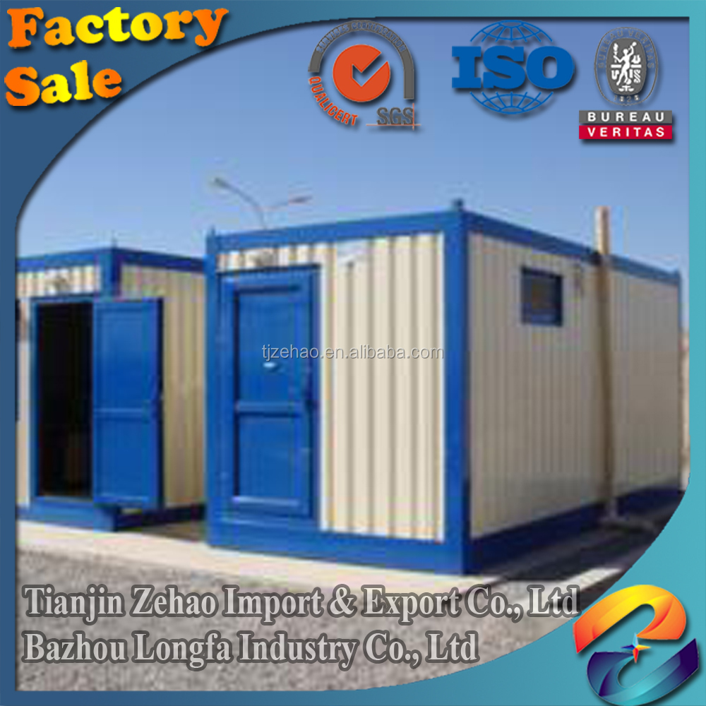 40ft prefabricated steel frame villa light steel villa ready made container home
