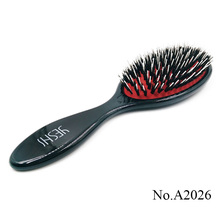 A2026 Nylon& Boar Women Massage Wet Hair straightening hair brush