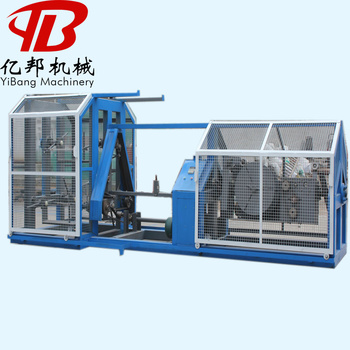 Brand new pp yarn rope making machine with high quality