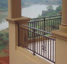 Material wrought iron balcony railing steel grill designs