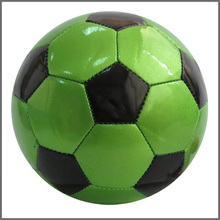 Official size 2 High Quality hanging PVC bladder football soccer ball/machine stitched