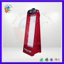 floor swivel display stand ,floor supermarket cardboard display ,floor surfboard display stand