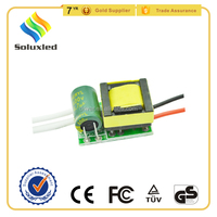 Buy AC100-240V 12v 3 watt led drivers circuit 25*15*14.5mm in ...